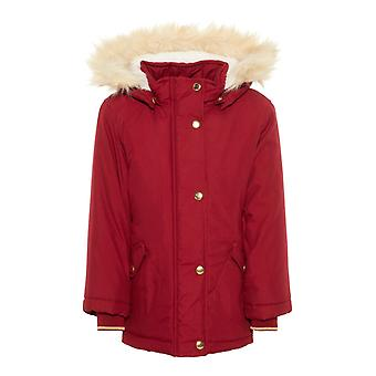 Name-It Meisjes Winterjas Nmfmoa Parka Biking Red