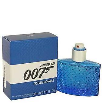 007 Ocean Royale By James Bond Eau De Toilette Spray 1 Oz (men) V728-534836
