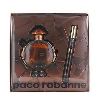Paco Rabanne Olympea Intense 50ml Eau de Parfum and 10ml Eau de Parfum Travel Spray for Women