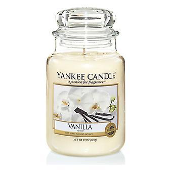 Yankee kynttilä Classic suuri jar vanilja kynttilä 623g