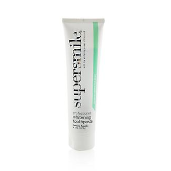 Supersmile Professional Whitening Toothpaste - Jasmin Green Tea Mint (box Slightly Damaged) - 119g/4.2oz