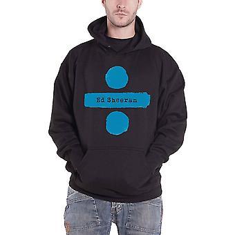 Ed Sheeran Hoodie Divide Album Logo new Official Mens Black Pullover