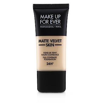 Matt Velvet Skin Full Dekning Foundation - # R210 (Pink Alabaster) 30ml / 1oz