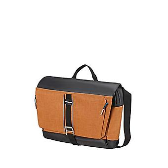 سامسونايت 2WM - Messenger Bag M 15.6 بوصة 46 سم 19.5 لتر براون (زعفران)