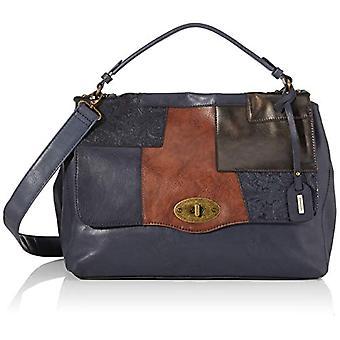 RemonteQ0487 Women's strap bagBlue (Blau Kombi)16x30x38 centimeters (B x H x T)