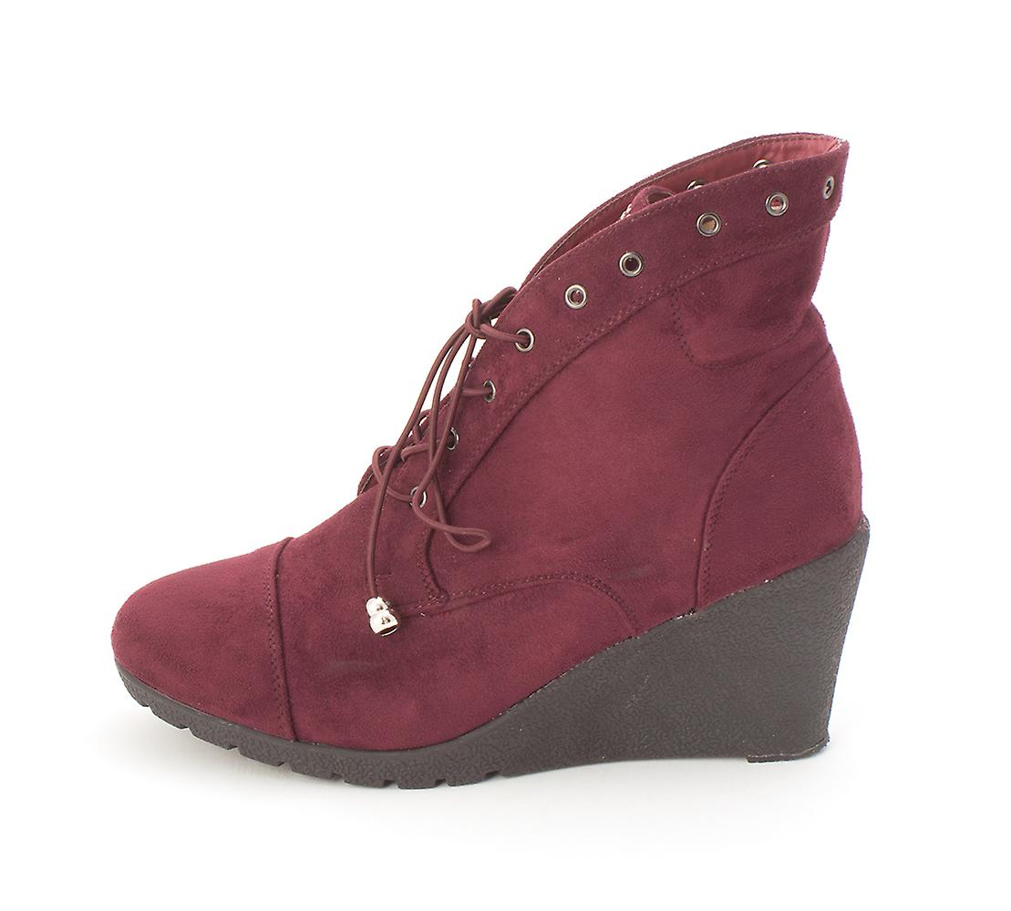 Beacon Womens Tessa Suede Closed Toe Ankle Fashion Boots tcSs9