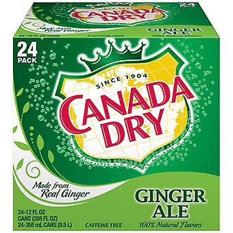 Kanada Torr Gingerale Cdn-( 355 Ml X 24 Burkar )