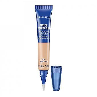 Rimmel Match Perfection Skin Tone Adapting Concealer - 010 Porcelain