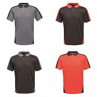 Regatta Mens Contrast Coolweave Polo Shirt