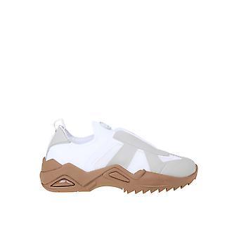Maison Margiela S37ws0501p3266h8058 Men's White Leather Slip On Sneakers