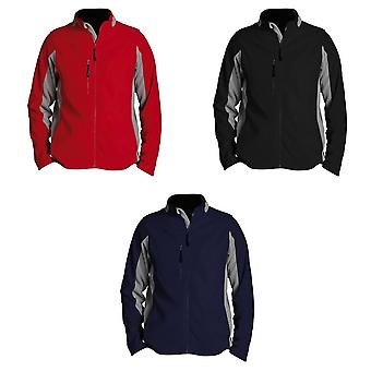 SOLS Mens Nordic Full Zip Contrast Fleece jas
