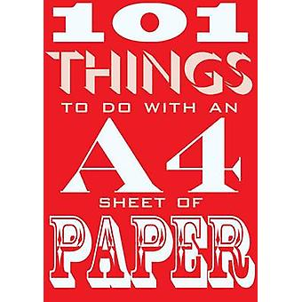 101 Things to Do with an A4 Sheet of Paper by Judith Hannam - Sarah D