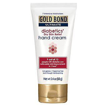 Gold bond ultimate diabetic dry skin relief hand cream, 2.4 oz