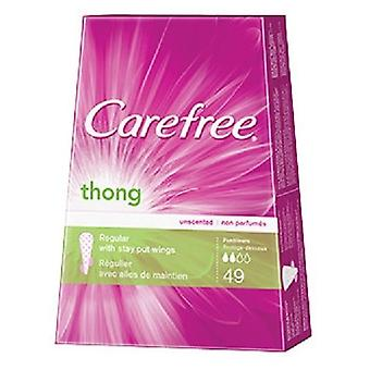 Carefree Thong Pantiliners Unscented