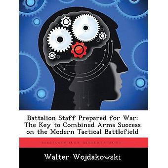 Battalion Staff Prepared for War The Key to Combined Arms Success on the Modern Tactical Battlefield by Wojdakowski & Walter
