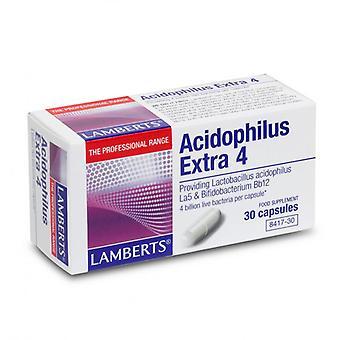 Lamberts Acidophilus Extra 4 Capsules 30 (8417-30)