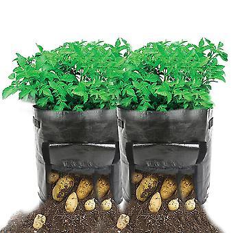 2 pcs حقيبة زرع