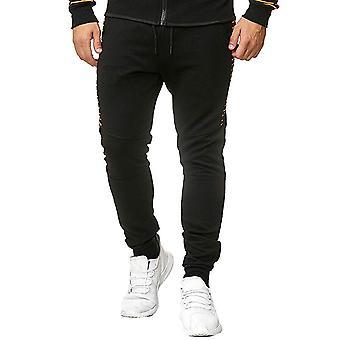 Allthemen Men-apos;s Pantalons décontractés rayés colorés