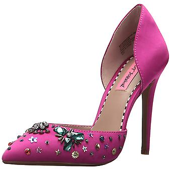 Betsey Johnson Womens Mayson Pointed Toe D-orsay Pumps