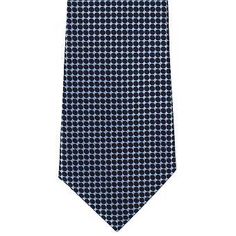 Michelsynové londýnské spotové sítě Polyester Tie-modrá