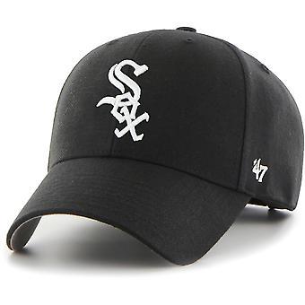 47 النار غطاء مناسباً استرخاء-MLB شيكاغو الجوارب أبيض أسود