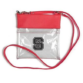 NC State Wolfpack NCAA Clear Gameday Crossbody Purse