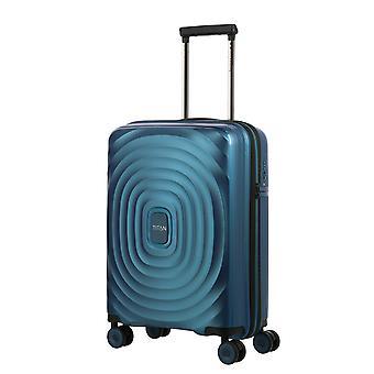 TITAN Looping Käsimatkatavarat Vaunu S, 4 Pyörät, 55 cm, 37 L, Sininen
