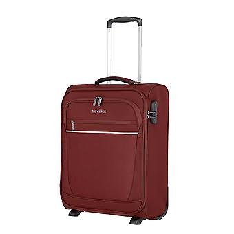 travelite Cabin Handgepäck Trolley S, 2 Rollen, 52 cm, 39  L, Rot