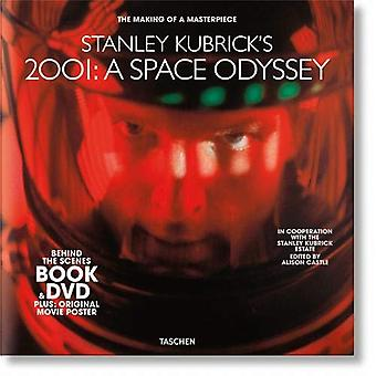 Stanley Kubrick's 2001 - A Space Odyssey. Book & DVD Set by Alison