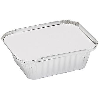 Caroline Foil Trays With Lids (Pack Of 4)