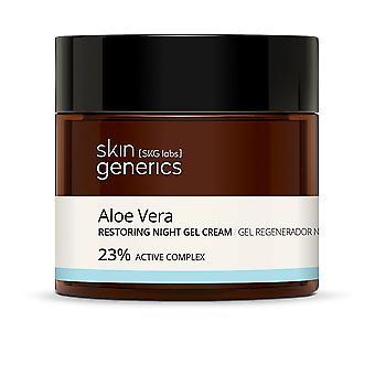 Skin Generics Aloe Vera Gel Regenerador Noche 23% 50 Ml For Women