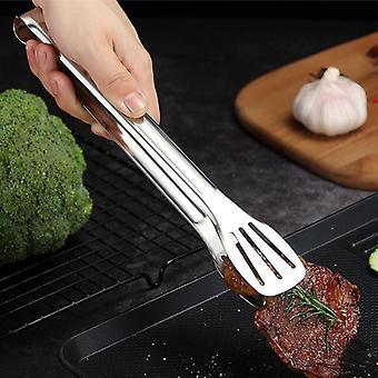 Ruostumattomasta teräksestä valmistetut ruokapihdit, keittiövälineet Buffet Keittotyökalu - Lämmöneston