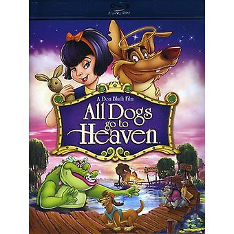 All Dogs Go to Heaven [Blu-ray] USA import