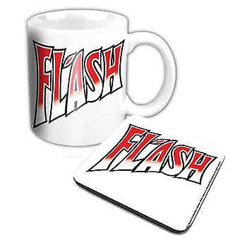 Queen Mug and Coaster Flash new official Gift set