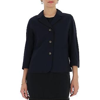 'S Max Mara 90410501600480003 Femmes's Cardigan en coton noir