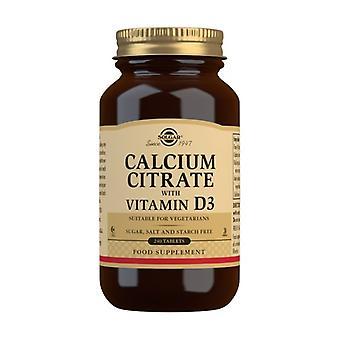 Kalsiumsitraatti 240 tablettia