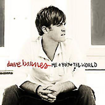 Dave Barnes - Me & You & the World [CD] USA import