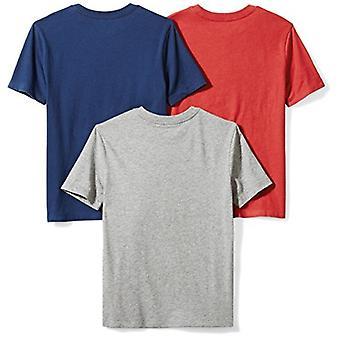 Brand - Spotted Zebra Boys' Toddler 3-Pack Short-Sleeve T-Shirts, Dino...