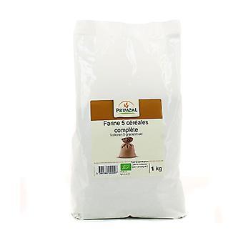 Wholemeal flour 5 cereals 1 kg
