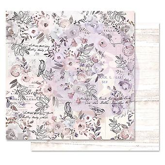 Prima Marketing Lavender Frost 12x12 Inch Sheets Finding The Way