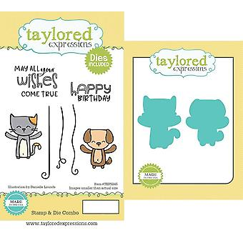 Taylored Expressions Yippee Critters Stamp & Die Combo