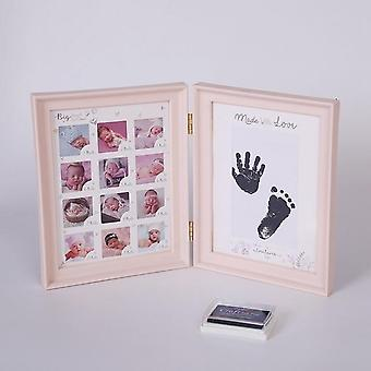 My First Year Baby 12 Months Picture Photo Frame With Craft Ink Pad - Kid