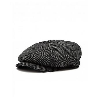 Barbour Herringbone Baker Boy Hat