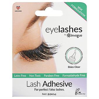 Invogue Professional False Lashes Adhesive - 7ml - Non Toxic & Latex Free Glue