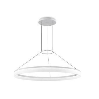Integroitu LED 1 valo suuri katto riipus valkoinen