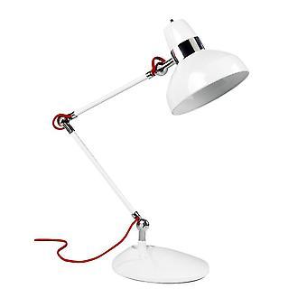 Leds-C4 - 1 Light Tall Table Lamp White, E27