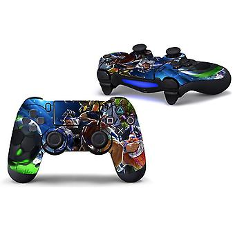 Silicon Vinyl Stickers voor Ps4-controller