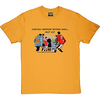 The Pitchside Monitor Yellow Men's T-Shirt