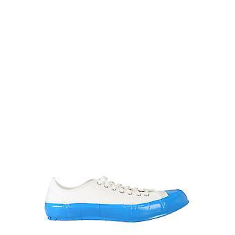 Comme Des Garçons Shirt W276031 Heren's White Cotton Sneakers