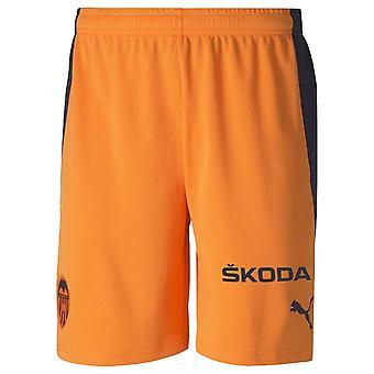 2020-2021 Valencia Borte Shorts (Oransje)